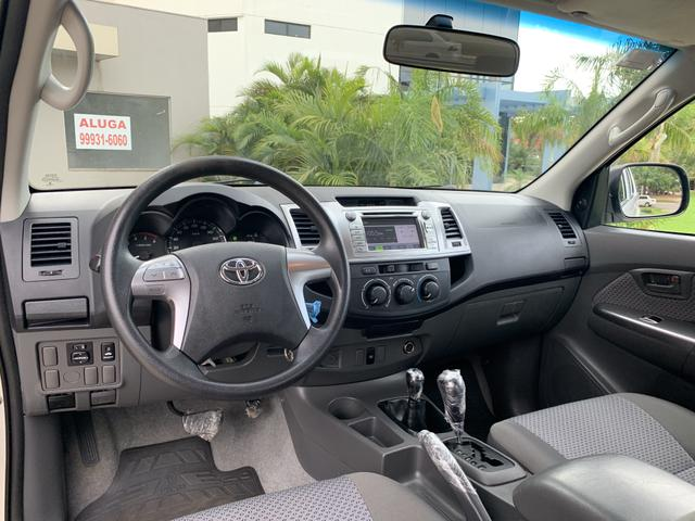 Toyota Hilux Cabine Dupla SR 4X4 3.0 (cab dupla) (aut) 2014/2015 - Diesel - Aro 16 - - Foto 11
