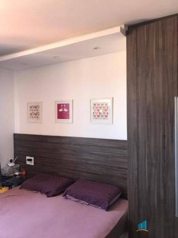 Apartamento com 2 dormitórios à venda, 54 m² por r$ 290.000,00 - jacarecanga - fortaleza/c - Foto 8