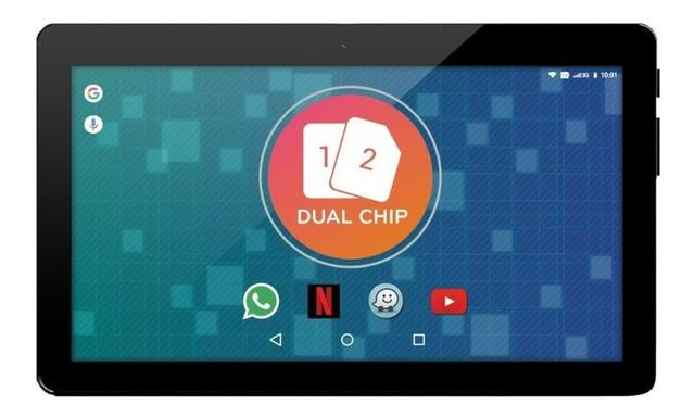 "Tablet Phone Octacore tela 10.1"" 4GB Ram 128GB Rom Alto desemopenho"