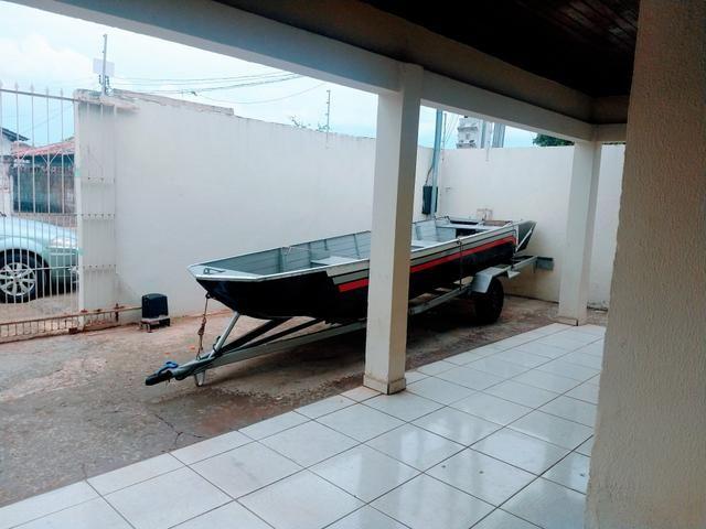Barco com motor e carretinha - Foto 4