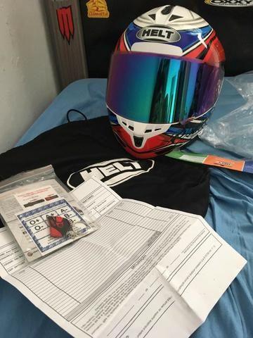 Vendo capacete helt New Race topppp - Foto 4