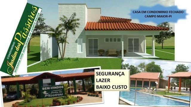 Lote em Campo Maior - Condominio Jardim dos Pássaros -medindo 600m² - Foto 8