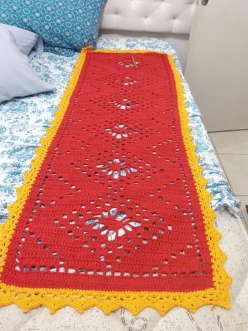 Passadeiras de crochê, grande, preços que variam de 80,00 a 100,00 - Foto 2