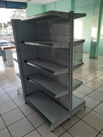 Prateleiras para supermercado (Gôndolas) - Foto 2