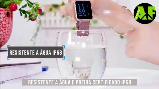 Relógio Smartwatch P70 + 2 pulseiras silicone /metal. Queima de estoque!! - Foto 4
