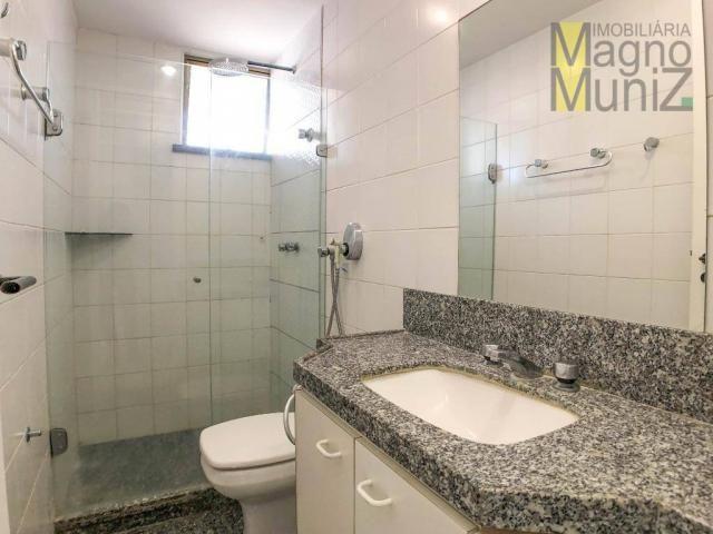 Apartamento com 4 suítes para alugar, 300 m² por r$ 2.500/ano - meireles - fortaleza/ce - Foto 18