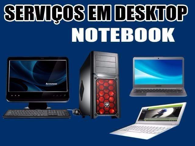 Serviços em computadores e notebooks, Venda de Peças e acessórios em informática - Foto 2