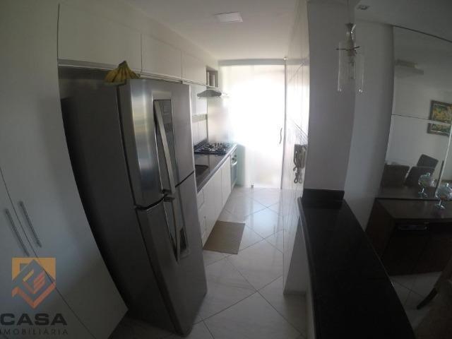 TS. Apartamento de 3 quartos/suíte, sol da manhã em Morada de Laranjeiras na Serra - Foto 3