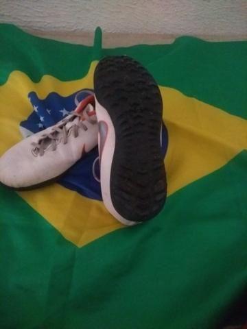 Chuteira society Nike mercurial - Foto 4