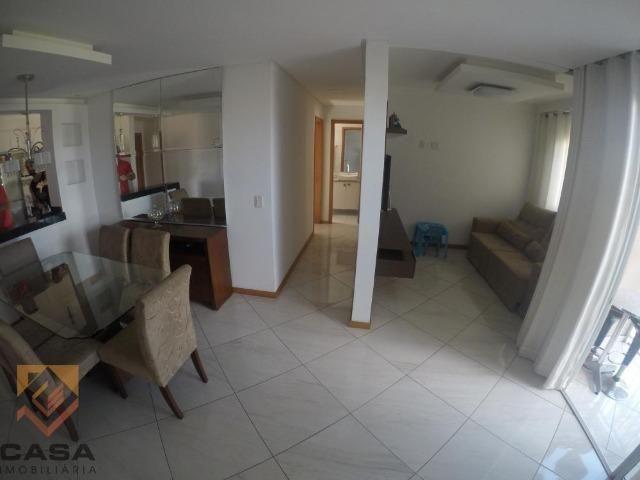 TS. Apartamento de 3 quartos/suíte, sol da manhã em Morada de Laranjeiras na Serra - Foto 2