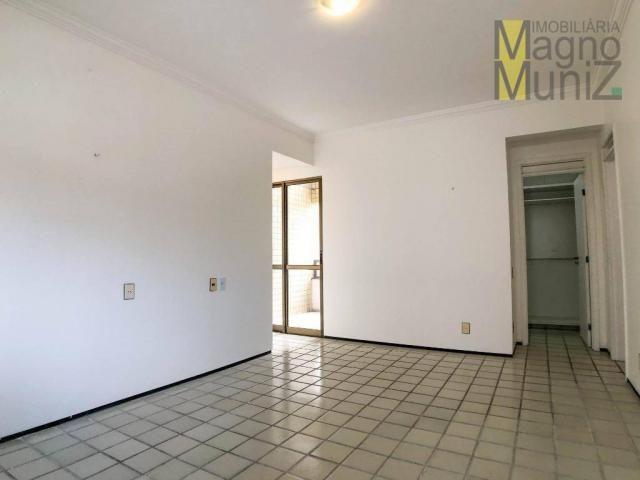 Apartamento com 4 suítes para alugar, 300 m² por r$ 2.500/ano - meireles - fortaleza/ce - Foto 19