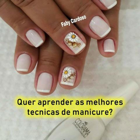 Curso de manicure e pedicure profissional com certificado - Foto 2