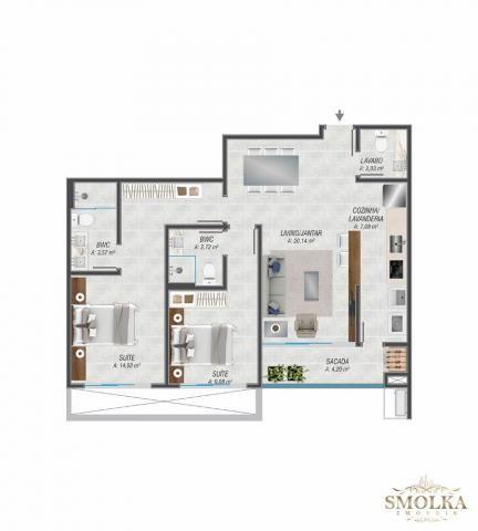 Apartamento à venda com 2 dormitórios em Jurerê internacional, Florianópolis cod:8446 - Foto 5