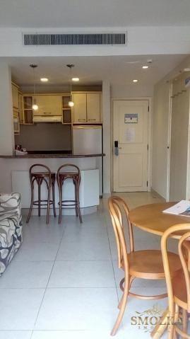 Studio à venda com 1 dormitórios em Jurerê, Florianópolis cod:9621
