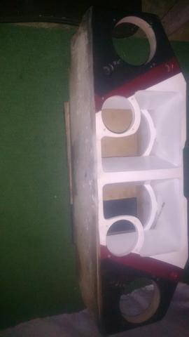 135 reais caixote para bocas de 10 polegadas duas corneta e dois **zap 996 83 60 83 - Foto 6