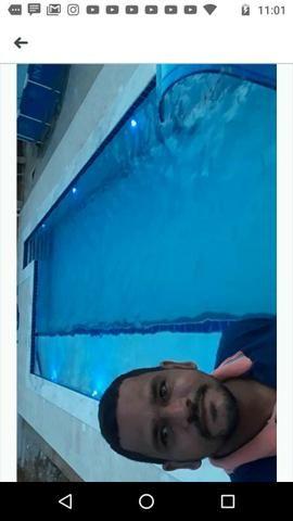 Reforma e construção de piscina