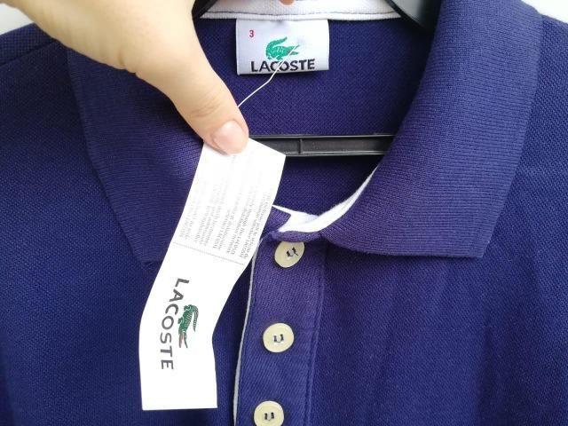 e427dbe013b27 Camisa Lacoste Nova original com etiqueta nunca usada tamanho P ...