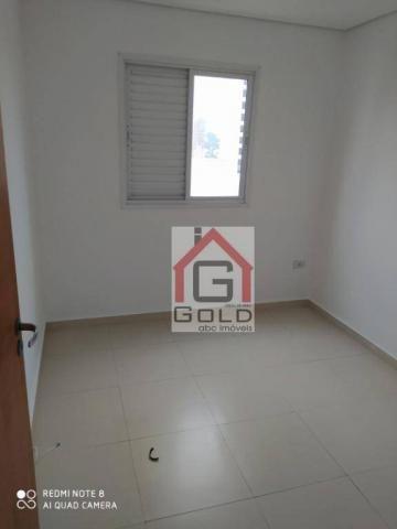 Apartamento com 3 dormitórios para alugar, 88 m² por R$ 2.000,00/mês - Campestre - Santo A - Foto 17