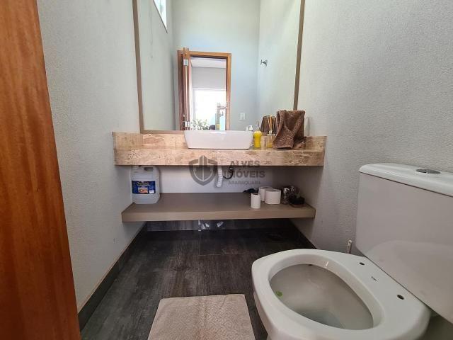 Casa de condomínio à venda com 3 dormitórios em Condomínio buona vita, Araraquara cod:A230 - Foto 19