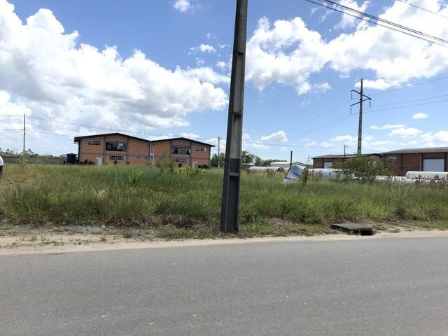 Terreno indústrial ideal para galpão,quadra de futebol society em Araquari