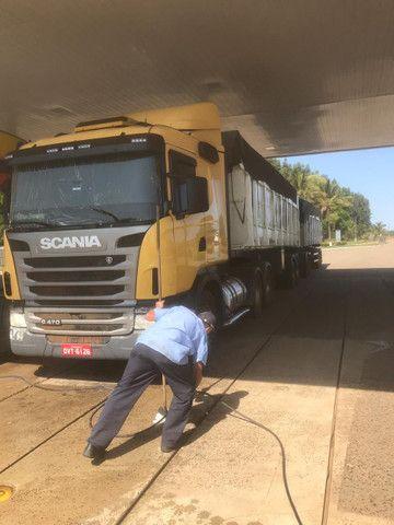 Caminhão Scania 470 com motor 440 6x4 - Foto 9