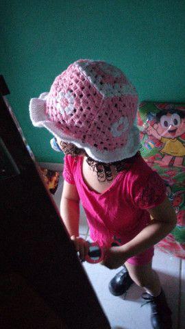 Bucket / chapéu de croche  - Foto 2