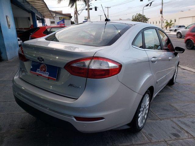 Ford Fiesta 1.6 Titanium 2015 Sedan. Um Dos Mais Novos De Campina - Foto 6
