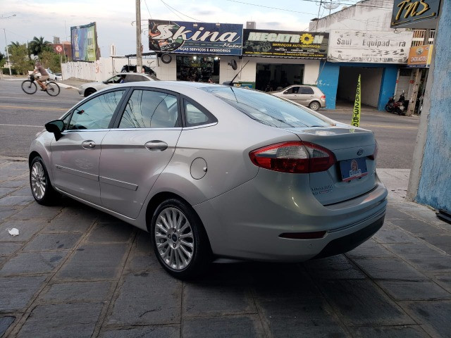 Ford Fiesta 1.6 Titanium 2015 Sedan. Um Dos Mais Novos De Campina - Foto 5