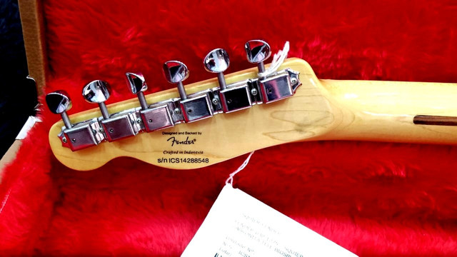 Guitarra Fender Squier Cabronita Custom Telecaster Bigsby No Precinho, de 5999 por 4999 - Foto 6