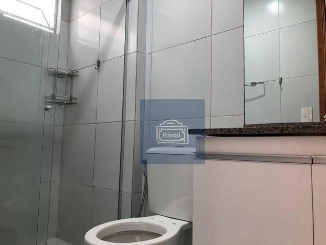 Apartamento para alugar, 48 m² por R$ 2.100,00/mês - Tamarineira - Recife/PE - Foto 10