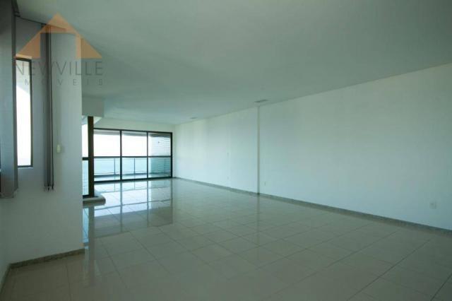Apartamento com 4 quartos para alugar, 201 m² por R$ 9.499/mês - Boa Viagem - Recife - Foto 9