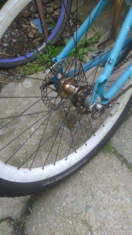 Bicicleta aro 17 usada - Foto 3