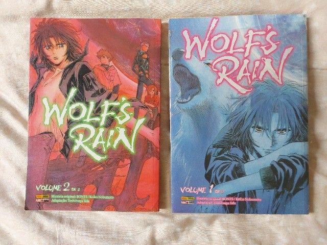 Mangá Wolf?s Rain 02 volumes completo usado