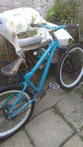 Bicicleta aro 17 usada