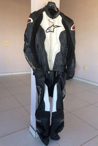Macacao Alpinestars Challenger suit 52 - 2 pecas / Customizado