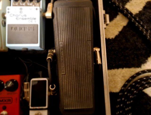 Pedais Guitarra Boss DS2, Boss Chorus, Proco Rat, Crybaby, MXR - Foto 5