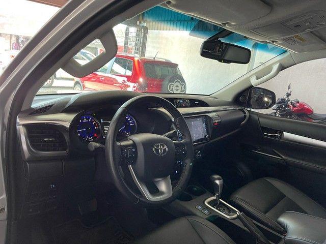 Toyota Hilux Srv Flex 4x4 2020 Garantia de Fabrica - Foto 11