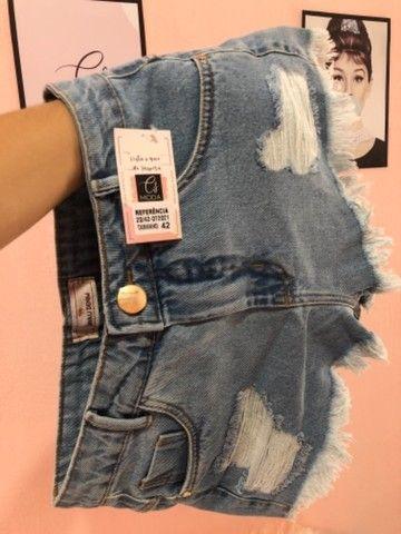 Saia Jeans +short jeans - Foto 3