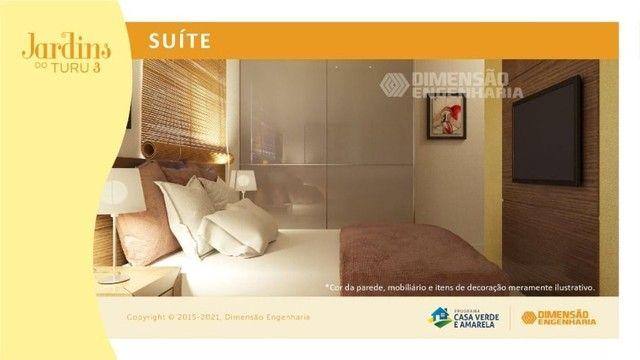 condomínio no turu, com apto de 56m², 2 quartos