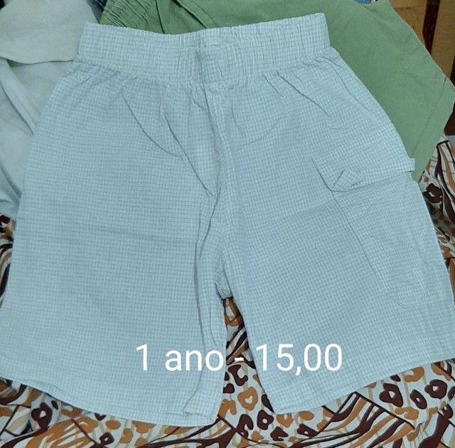 Shorts de 1 a 3 anos - vários  - Foto 3