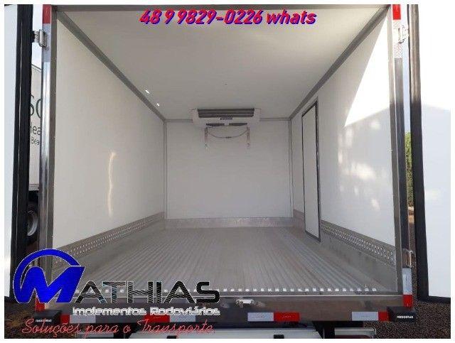 carroceria refrigerada 3/4 toco truck bi truck  para todos os tamnahos  - Foto 3