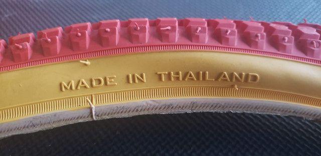 Pré venda Pneu NTKK Snakebelly aro 26 Caloi Cruiser Light  em breve aqui no Br - Foto 5