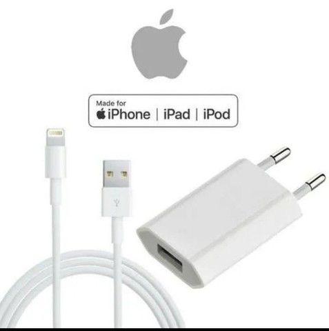 CABO E PORTA USB ORIGINAL PARA IPHONE<br><br>