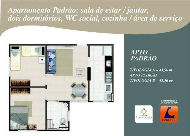 Oportunidade p/ Sair do Aluguel - Cond. Village Alvorada - Aptos c/ 2 quartos - Foto 13