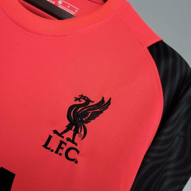 Camisa Liverpool de Treino 2020/21 - Foto 3