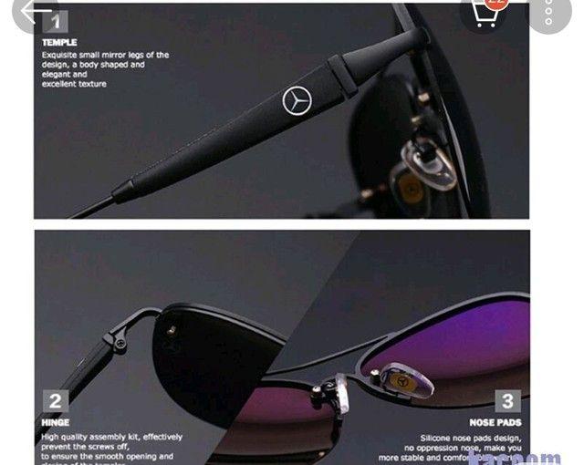 Óculos Mercedes Bens GT Polarizado  - Foto 3