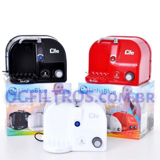 Purificador de água BlueOxi não gela, ioniza, alcaliniza e libera ozônio - Foto 2