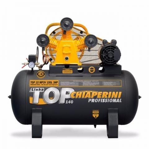 Compressor Top 15 MP3V 150 Litros Motor 3Hp Trifásico