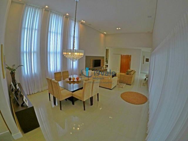 Linda casa térrea à venda, condomínio alto luxo mirante do vale, jacareí-sp - Foto 8