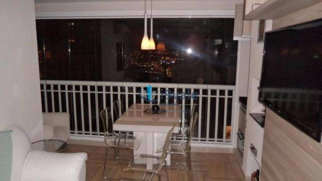 Apartamento com 3 dormitórios à venda, 92 m² por r$ 550.000 - jardim aquarius - são josé d - Foto 2